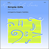 Halferty Simple Gifts - Piano/Score arte de la cubierta