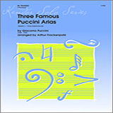 Frackenpohl Three Famous Puccini Arias - Piano/Score cover art