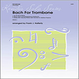 Frank J. Halferty Bach For Trombone cover art