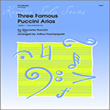Three Famous Puccini Arias - Trombone Duet