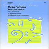 Three Famous Puccini Arias - Trombone Duet