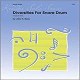 Diversities For Snare Drum Partituras
