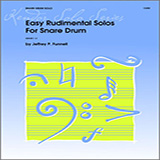 Funnell Easy Rudimental Solos For Snare Drum cover art