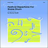 Murray Houllif Festival Repertoire For Snare Drum cover art