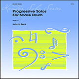 Progressive Solos For Snare Drum Digitale Noter
