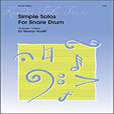 Murray Houllif Simple Solos For Snare Drum cover art