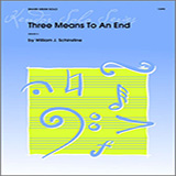 William Schinstine Three Means To An End cover art
