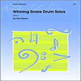 Tom Brown Winning Snare Drum Solos cover art