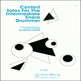 Contest Solos For The Intermediate Snare Drummer Partituras