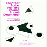 Murray Houllif Contest Solos For The Young Snare Drummer arte de la cubierta