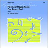 Murray Houllif Festival Repertoire For Drum Set cover art