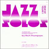 Thompson Jazz Solos For Drum Set, Volume 1 cover art