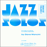 Dave Mancini Jazz Solos For Drum Set, Volume 2 cover art