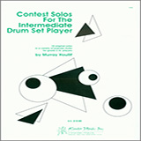 Murray Houllif Contest Solos For The Intermediate Drum Set Player cover art