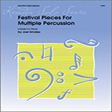 Joel Smales Festival Pieces For Multiple Percussion cover art