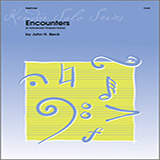 John H. Beck Encounters (6 Advanced Timpani Solos) cover art