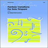 Mccormick Fanfare Variations For Solo Timpani cover art