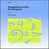 Progressive Solos For Timpani