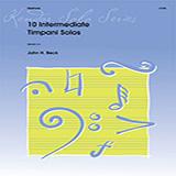 10 Intermediate Timpani Solos Partitions