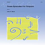 Three Episodes For Timpani Partituras