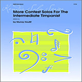 Houllif More Contest Solos For The Intermediate Timpanist cover art