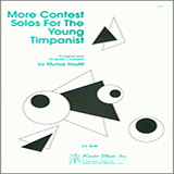 Houllif More Contest Solos For The Young Timpanist arte de la cubierta