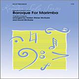 Kristen Shiner McGuire & David McGuire Baroque For Marimba cover art