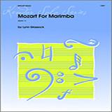 Glassock Mozart For Marimba cover art