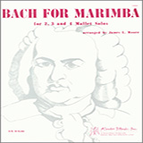 Bach For Marimba