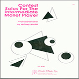 Murray Houllif Contest Solos For The Intermediate Mallet Player cover art