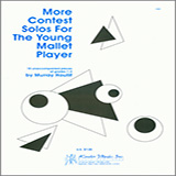 Houllif More Contest Solos For The Young Mallet Player l'art de couverture