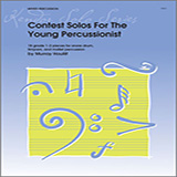 Contest Solos For The Young Percussionist Partituras