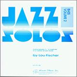 Fischer Jazz Solos For Bass, Volume 2 cover art