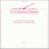 12 Classical Duets (from 24 Duettos In An Easy, Pleasing Style) Noten