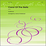 Carol of the Bells for Woodwind Ensemble - Flutes Noter