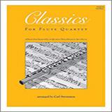 Carl Strommen Classics For Flute Quartet - 3rd Flute cover art