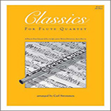 Carl Strommen Classics For Flute Quartet - 4th Flute l'art de couverture