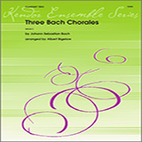 Three Bach Chorales for Woodwind Ensemble - Clarinets