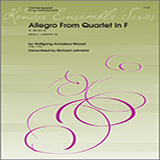 Allegro From Quartet In F (K. 168, Mvt. 4) - Woodwind Ensemble