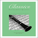 JOHNSTON Classics For Clarinet Quartet, Volume 2 - 2nd Bb Clarinet arte de la cubierta