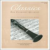 Classics For Clarinet Quartet - 1st Bb Clarinet