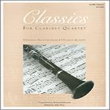 Classics For Clarinet Quartet -  3rd Bb Clarinet