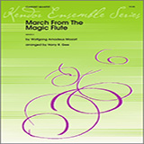 March From The Magic Flute for Woodwind Ensemble - Clarinets