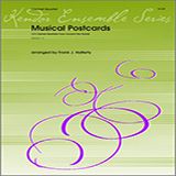 Musical Postcards (10 Clarinet Quartets From Around The World) - Woodwind Ensemble