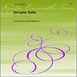 Niehaus Simple Gifts - Clarinet 1 cover kunst