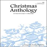 Frank J. Halferty Christmas Anthology (24 Duets For Grade 3-4 Musicians) arte de la cubierta