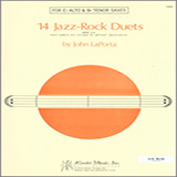 14 Jazz-Rock Duets (alto & tenor sax) Partiture