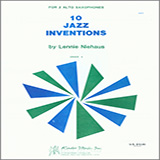 10 Jazz Inventions (altos) Sheet Music