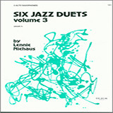Six Jazz Duets, Volume 3 Partituras