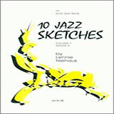 10 Jazz Sketches, Volume 1 Noter